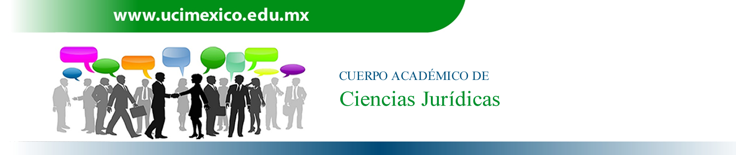 Cuerpo Académico de Ciencias Jurídicas