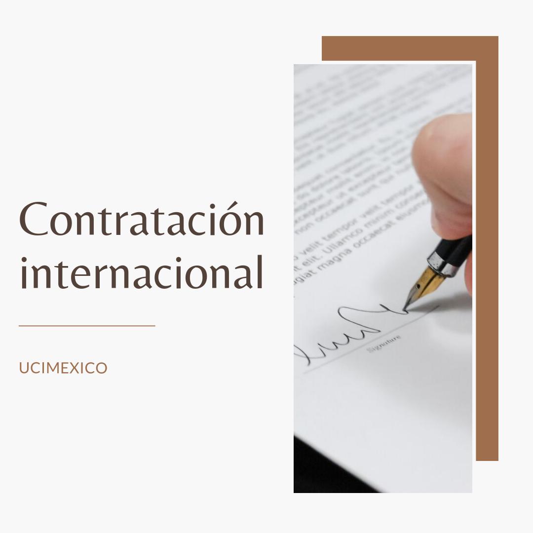 7G MCJ-08 Contratación Internacional