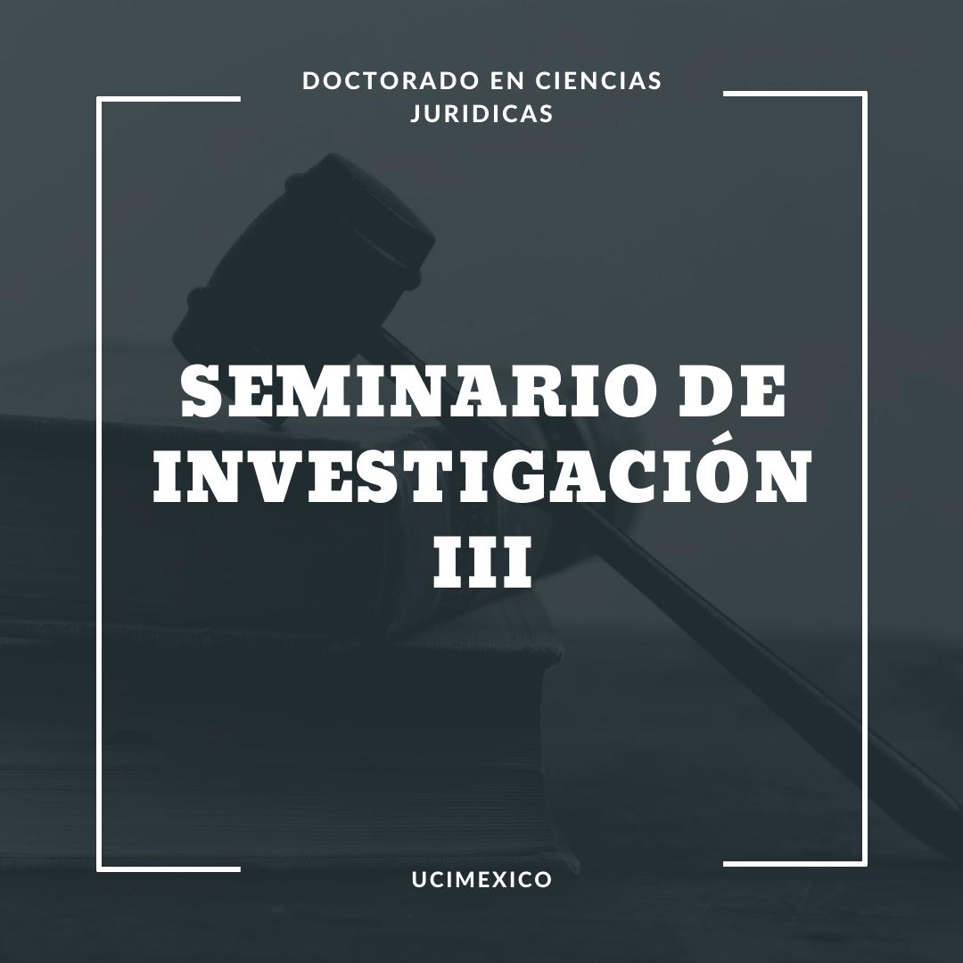 14G DCJ-13 Seminario de investigación III